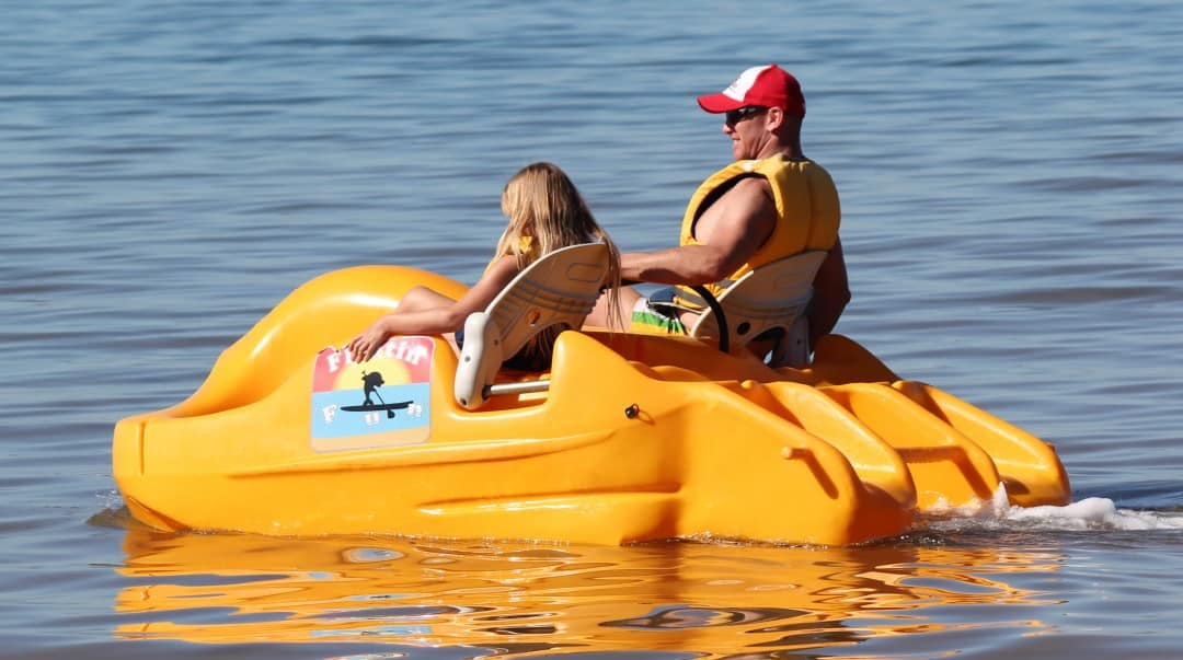 pedal-boat